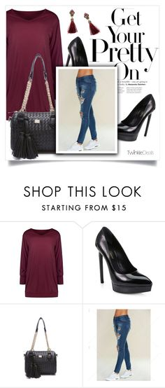 """""""Twinkle Deals 21/90"""" by amra-mak ❤ liked on Polyvore featuring Yves Saint Laurent and twinkledeals"""