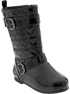 Faux-Patent-Leather Boots for Baby Product Image