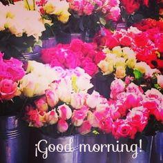 Good Morning with flowers #ideassoneventos #blog #bloglovin #organizacióndeventos #comunicación #protocolo #imagenpersonal #bienestarybelleza #decoración #inspiración #bodas #buenosdías #goodmorning #jueves #thrusday #happy #happyday #felizdía #flores #flowers #freshflowers