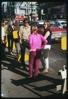 By 1967 the neighborhood drew the attention of young people from all over the U.S. San Francisco In 1967