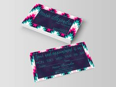 nail artist business cards