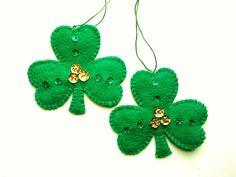 Felt St. Patrick's Day Decoration St. by PatriciaWelchDesigns
