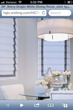 These are the curtains I would like for my new dining room and formal sitting room bay windows.