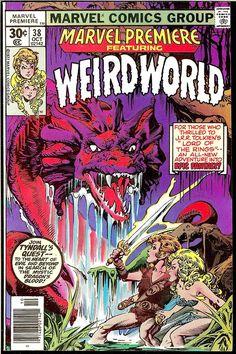Vintage Comic - Marvel Premiere #038