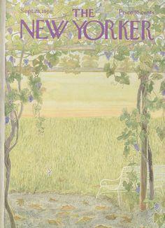The New Yorker - Saturday, September 28, 1968 - Issue # 2276 - Vol. 44 - N° 32 - Cover by : Ilonka Karasz