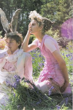 "Vogue Italia Stella Tennant ""Dream and Magic"" by Tim Walker : 네이버 블로그"