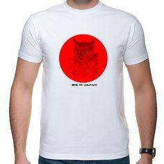"""Koszulka męska z kotem """"Big in Japan"""" A... tak chodził mi po głowie kawałek Alphaville..."""