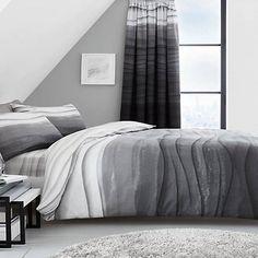 Wave Ombre Duvet Set Bed Duvet Covers, Duvet Sets, Duvet Cover Sets, Grey Bedding, Linen Bedding, Grey Bedroom Decor, Pillow Cases, Wave, Contemporary
