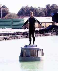 Sam Claflin [Finnick] dancing at the Cornucopia :D 1/2 behind the scenes of Catching Fire :)