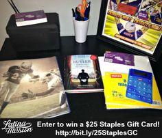 Pick Up School Supplies at Staples + $25 Giveaway #StaplesHasIt