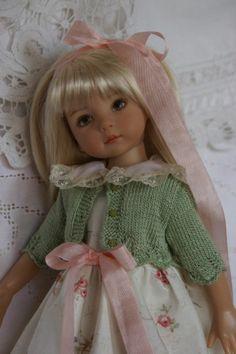 "Effner 13"" Little Darling *SWEET SPRING* Ensemble by Ladybugs Doll Designs ~OOAK"