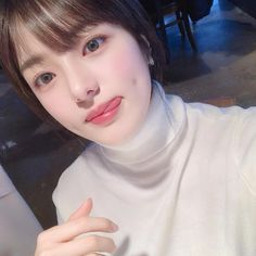 Ulzzang Korean Girl, Cute Korean Girl, Pretty Asian Girl, Beautiful Asian Girls, Korean Beauty Girls, Asian Beauty, Cute Girls, Cool Girl, Girls With Dimples