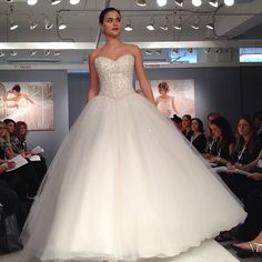 Cinderella wedding dress, Sparkly ballgown by Mori Lee