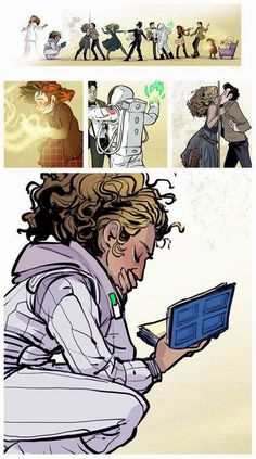 The story of River Song - this is so gorgeous!!