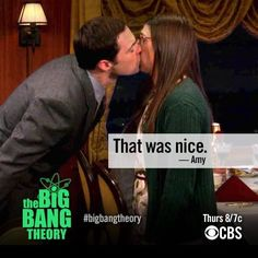 THAT ACTUALLY HAPPENED SHAMY KISSED Sheldon and Amy big bang theory valentines day episode