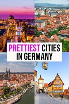 Hands down the prettiest cities in Germany you HAVE TO SEE! | places to visit in germany | what to do in germany | travel to germany tips | germany travel tips | germany aesthetic | trip to germany | europe bucket list | travel germany | travel bucket list | honeymoon ideas | Europe trip |