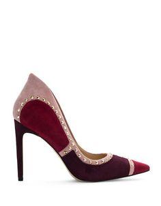 Shoes | Heels & Pumps  | Suede Point-Toe Pumps | Hudson's Bay