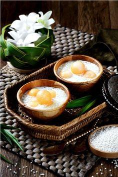 สาคูแคนตาลูปนมสด Sweet Sago With Cantaloupe Authentic Thai Food, Tasty Thai, Thai Dessert, Thai Cooking, Thai Dishes, Food Concept, Asian Desserts, Indonesian Food, Saveur