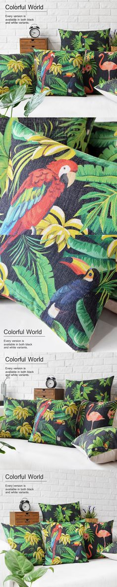 Wholesale Original Rainforest Cushions Home Decor Southeast Asian style Pillows…