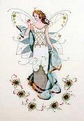 May's Emerald Fairy - Mirabilia Cross Stitch Pattern