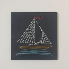 Sailboat String Art Wall Decor