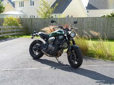XSR 700 New mods Evotech tail tidy Evotech headlight guard Yamaha rad covers Akrapovic exhaust Twinduro tyres Single seat