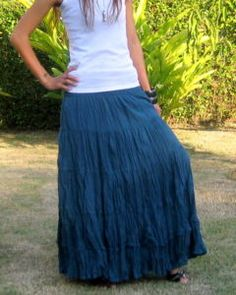 Boho! I've been wearing these skirts for years!!!!