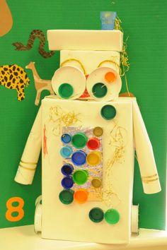 Man and machine- junk robot