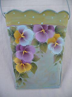 Image detail for -... floral tin pocket set 2 designs judy diephouse lynne deptula $ 7 50