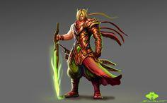 Troll Blademaster by ShadowPriest on DeviantArt Character Portraits, Character Art, Character Concept, Character Design, Dnd Characters, Fantasy Characters, World Of Warcraft Paladin, Blood Elf, Warcraft Art