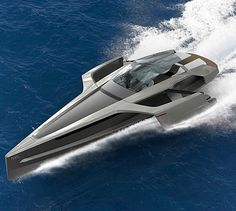 Audi Trimaran Concept | With Twin Jet Skis