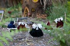 Laundry day at the fairy house!