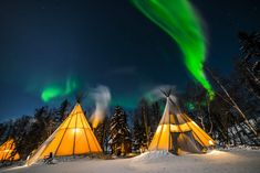 One of the best places in the world to see the Northern Lights is in the Northern Territories of Canada, also known as the Aurora Capital of North America. Northern Lights Canada, See The Northern Lights, Northern Lights Tours, Places To Travel, Places To See, Canada Travel, Canada Trip, Visit Canada, Norway Travel