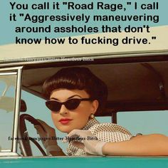 This is so me these days! While I listen to my Christian music...traffic ruins me!