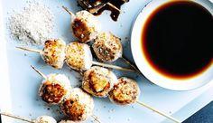 Recette de brochettes de boulettes tsukune - L'Express http://www.lexpress.fr/styles/saveurs/recette/recette-de-brochettes-de-boulettes-tsukune_1554012.html