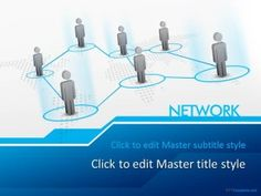 Free Network PPT Template