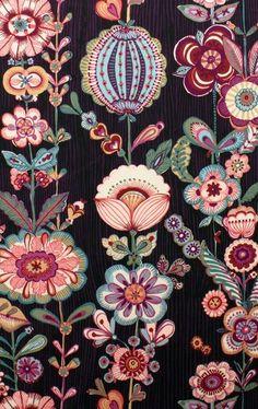 鮮艷的手繪風花朵   MyDesy 淘靈感