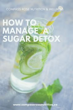 Try these 6 simple steps to start your sugar detox today Easy Meal Plans, Detox Tips, Compass Rose, Sugar Detox, Sugar Free Recipes, How To Eat Less, Health Goals, Want To Lose Weight, Health Problems