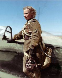 Lydia Vladimirovna Litvyak 18 Aug 1921 - 1 Aug 1943