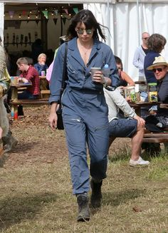 Pin for Later: The Festival Style at Glastonbury Has Never Been Better Daisy Lowe Daisy wore Topshop.