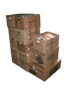 How to get free moving boxes from people who are trying to get rid of them. How to get free moving box from grocery stores, Craigslist, and recycling plants. Cheap Moving Boxes, Free Moving Boxes, Commercial Movers, Double Buggy, Moving Supplies, House Clearance, Moving And Storage, Self Storage, Moving Services