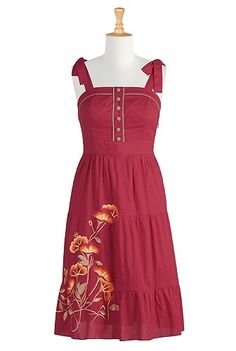 I love this dress! Want to buy it and wear it tomorrow!