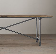 Flatiron Dining Table ((I found my PERFECT kitchen/dining table))