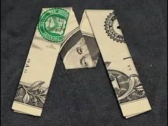 Fold Origami Dollar Bill Number   Youtube  Great Gift Ideas
