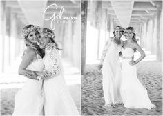 Mother and daughters,  the wedding dress session! Huntington Beach Photographer