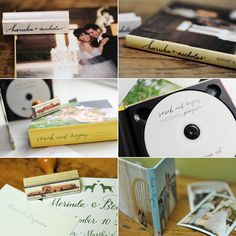 Hand-calligraphied photography packaging! This would be so fun and a perfect hobby/business skill!