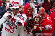 buckeye man | Buck-I-Guy, Buckeye Man and Big Nut at Illinois