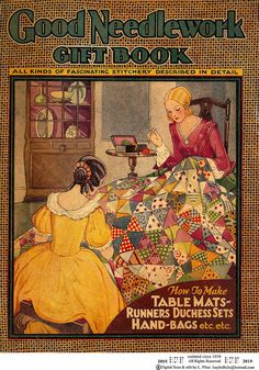 1930's Good Needlework Gift book by Embroiderist, via Flickr