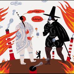 """""""Fisrt take Manhattan"""". Ilustrísimo Sr.Cohen ( (Illustrious Mr.Cohen). 451 Editores, Madrid 2011.   http://www.arnalballester.com"""