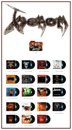 Album Art Icons: Venom Discography Folders (ICO & PNG)